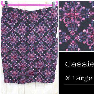LuLaRoe Cassie Skirt - XL